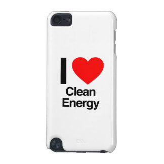 i love clean energy iPod touch (5th generation) cover