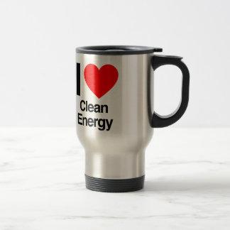 i love clean energy mug