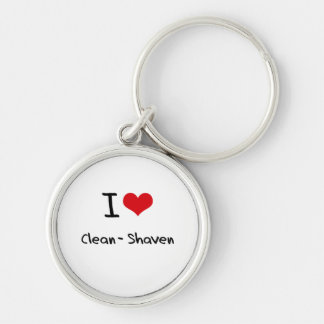 I love Clean-Shaven Keychain