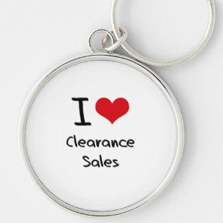 I love Clearance Sales Key Chain