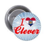 I Love Clever, Missouri Buttons
