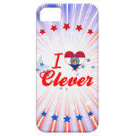 I Love Clever, Missouri iPhone 5 Cases
