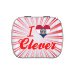 I Love Clever, Missouri Jelly Belly Candy Tins