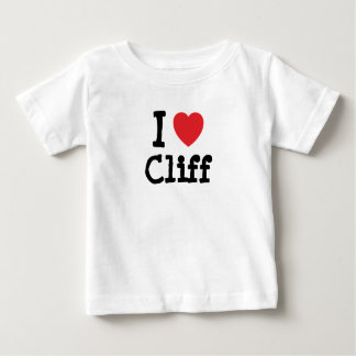 I love Cliff heart custom personalized Shirts