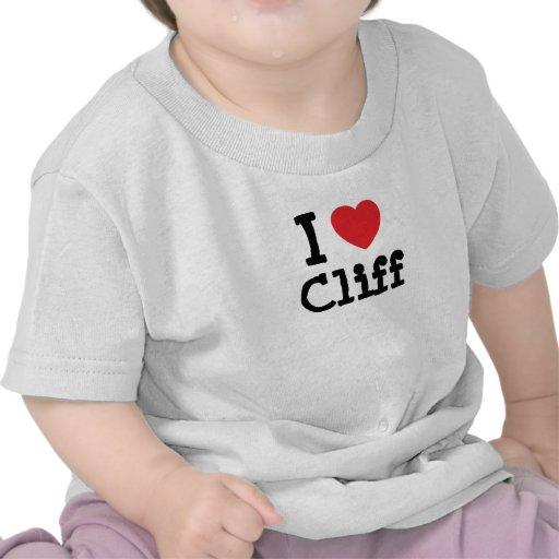 I love Cliff heart custom personalized Shirt