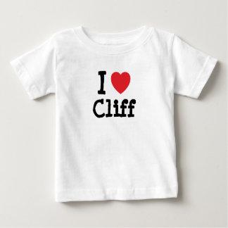 I love Cliff heart custom personalized T Shirt
