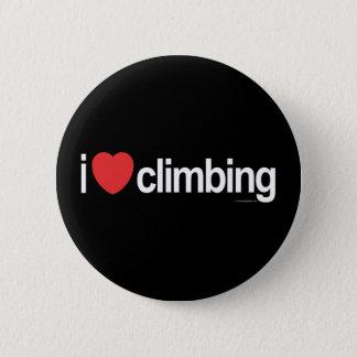 I Love Climbing 6 Cm Round Badge