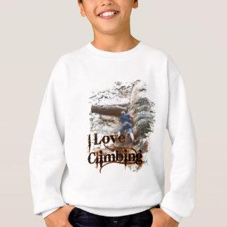 I Love Climbing Alpine Knee Sweatshirt