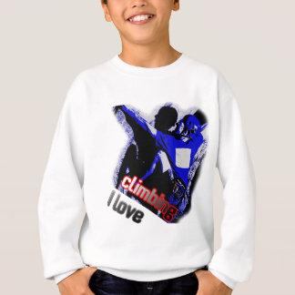 I Love Climbing Free Solo Sweatshirt