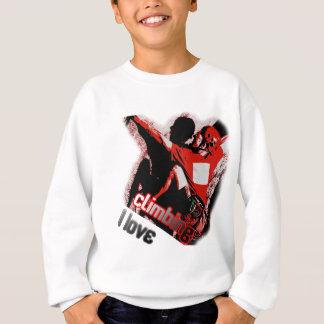 I Love Climbing Pulley Sweatshirt
