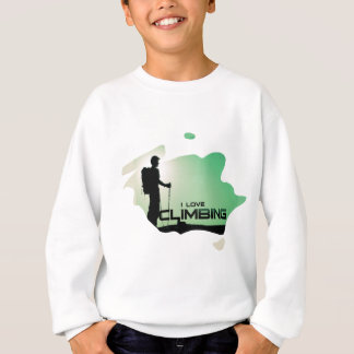 I Love Climbing Route Sweatshirt