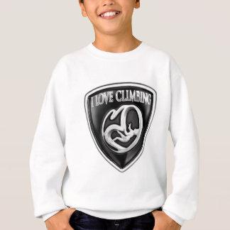 i love climbing sweatshirt