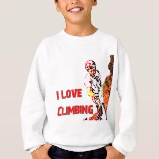 I Love Climbing Weighting Sweatshirt