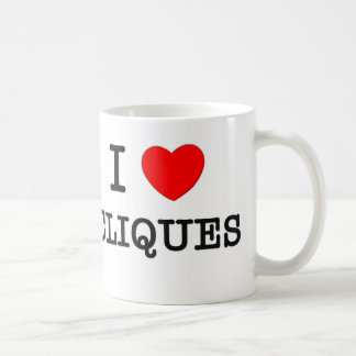 I Love Cliques Coffee Mug