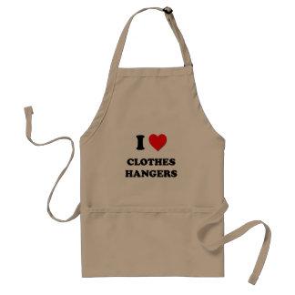 I love Clothes Hangers Standard Apron