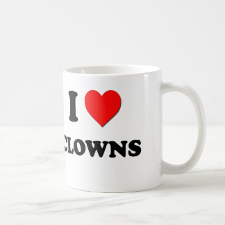 I love Clowns Coffee Mug