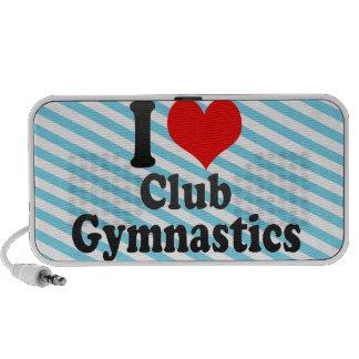 I love Club Gymnastics Mp3 Speakers