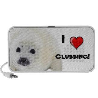 I love Clubbing! Notebook Speaker