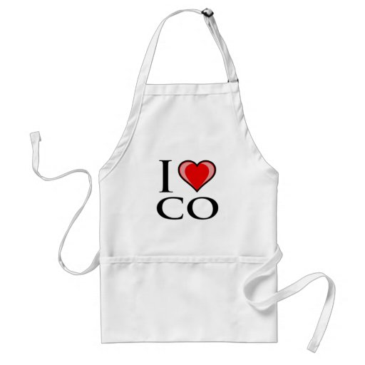 I Love CO - Colorado Apron
