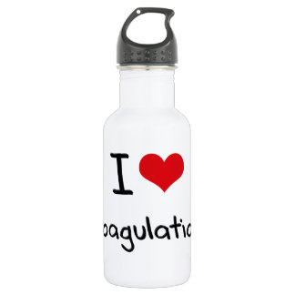 I love Coagulation 532 Ml Water Bottle