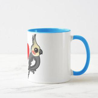 I Love Cockatiels Mug
