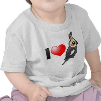 I Love Cockatiels T-shirts