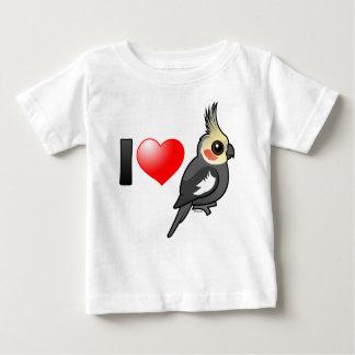 I Love Cockatiels Shirts