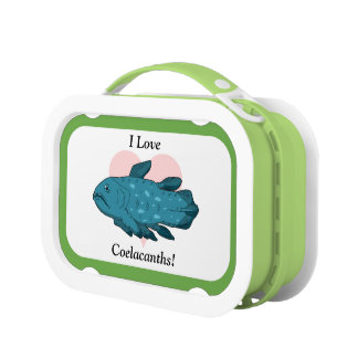 I Love Coelacanths! Lunchboxes