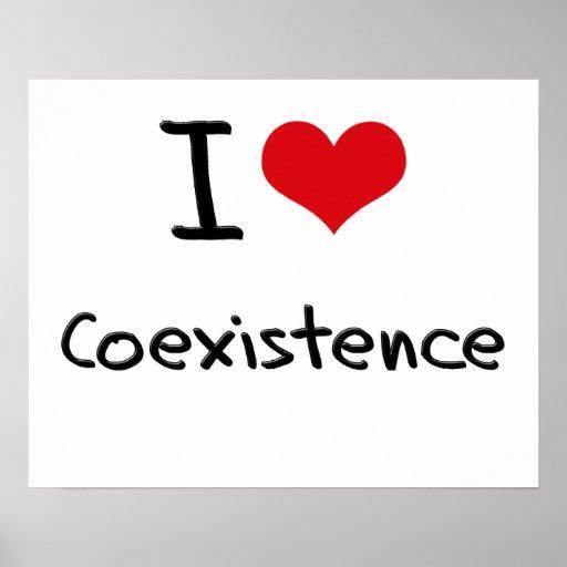 I love Coexistence Print