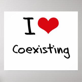 I love Coexisting Print