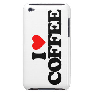 I LOVE COFFEE iPod TOUCH COVER