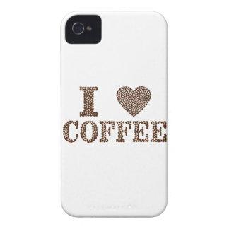 i love coffee ,coffeeholic iPhone 4 Case-Mate case