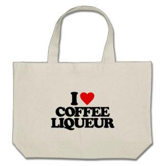 I LOVE COFFEE LIQUEUR CANVAS BAG