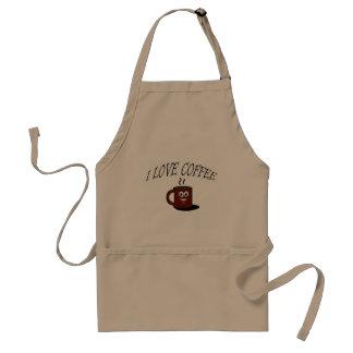 I love coffee standard apron