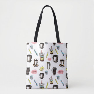 I Love Coffee Tote Bag