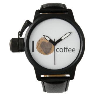 I love coffee wrist watch