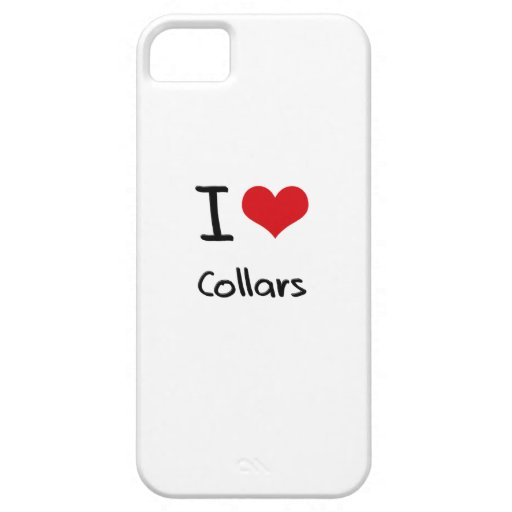 I love Collars iPhone 5/5S Covers