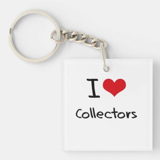 I love Collectors Acrylic Key Chain
