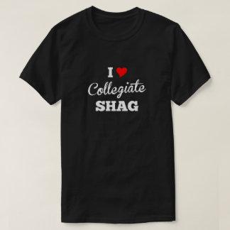 I Love Collegiate Shag Pitch T-Shirt