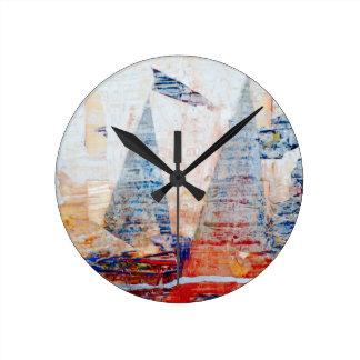I Love Cologne Round Clock