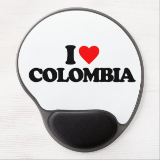 I LOVE COLOMBIA GEL MOUSE MATS