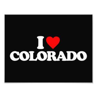 I LOVE COLORADO PHOTO ART