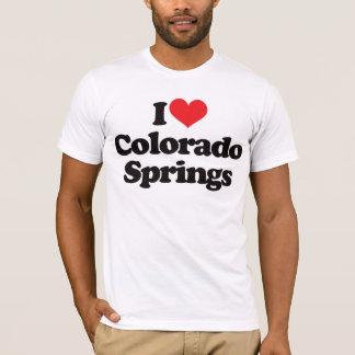 I Love Colorado Springs T-Shirt