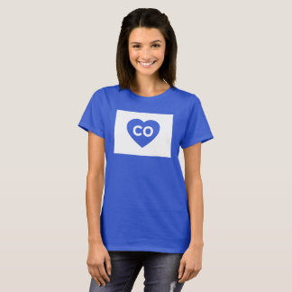 I Love Colorado State Women's Basic T-Shirt