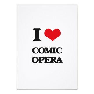 I Love COMIC OPERA Announcements