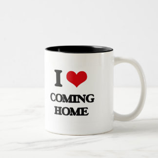I love Coming Home Coffee Mugs