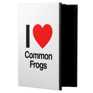i love common frogs iPad air cover