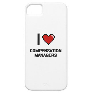 I love Compensation Managers iPhone 5 Cover