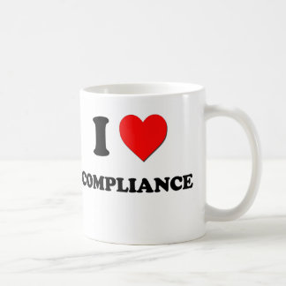 I love Compliance Coffee Mug