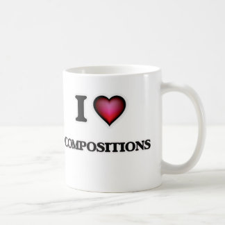 I love Compositions Coffee Mug